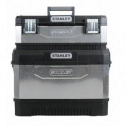 Coffre de chantier plus boîte à outils bi-matière galvanisé 1-95