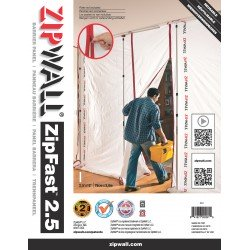 Panneau 2.5'|76 cm ZipFast™...