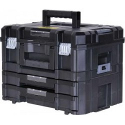 Kit mallette + mallette 2 tiroirs TSTAK Fatmax 1-71981