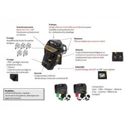 Niveau laser multiligne X3R - 360° rouge