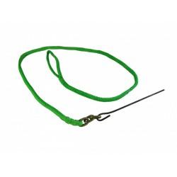 Elingue de corde PEHP 10mm x 2.1m avec aiguille métal PCA1372