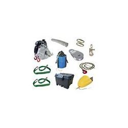 Kit de tirage lignard (ligne à haute tension) souterrain - 150m PCW5921-150