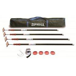 ZIPWALL Pack ZP4 + bobineau...