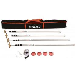 ZIPWALL Pack SLP4 lot de 4...